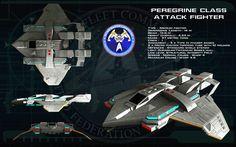 Peregrine class attack fighter ortho [update] by unusualsuspex.deviantart.com on @DeviantArt