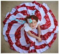 Peppermint Swirl Dress $8