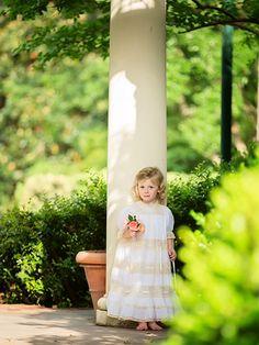 Arden Woods is beautiful in her Mela Wilson Heirloom dress.