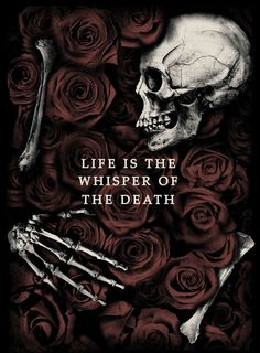 Life Is The Whisper Of The Death by Javier Del Pozo, via Behance