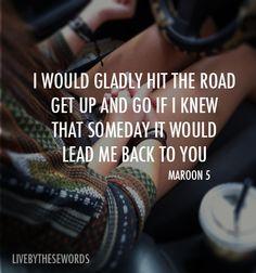Maroon 5 lyrics [so true]