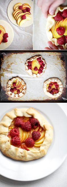 Peach & RaspberryGalette