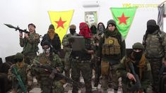 Şervanên Enternasyonal Ber bi Efrînê ve Ketin Rê