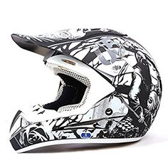 75cbec3792f Dual Sport Moto Mx Enduro Crash Off Road Motocross Motorcycle Helmet With  Visor