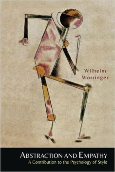 """Worringer identifies two opposing tendencies pervading the history of art from ancient times through the Enlightenment. He claims that in societies experiencing periods of anxiety and intense spirituality, such as those of ancient Egypt and the Middle Ages, artistic production tends toward a flat, crystalline """"abstraction,"""" while cultures that are oriented toward science and the physical world, like ancient Greece and Renaissance Italy, are dominated by more naturalistic, embodied styles..."""