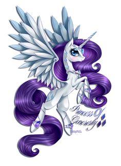 Princess Rarity. I like this design!