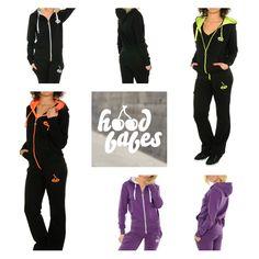 """Hood Babes Sportswear  40% OFF ❤ Voucher Code - """"HOOD40""""   http://www.hoodboyz.co.uk/hood-babes/"""