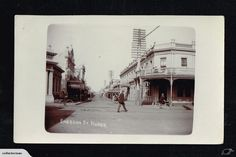 NAPIER Emerson Street 1911 postcard | Trade Me