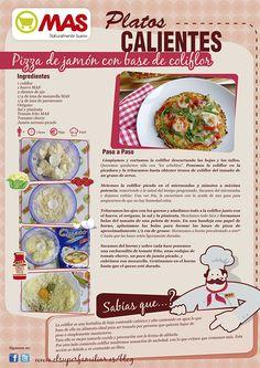 Healthy Life, Healthy Eating, Pizza And More, Keto Recipes, Healthy Recipes, Sin Gluten, Tapas, Delish, Veggies