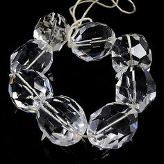 Other Loose Beads 179275: Jewelry Findings 8Pcs White Quartz Beads 21Mm BUY IT NOW ONLY: $62.98