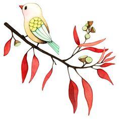 Afsaneh Tajvidi.    Hope - Watercolor version