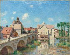 Le Pont de Moret par Alfred Sisley © RMN-Grand Palais (musée d'Orsay)