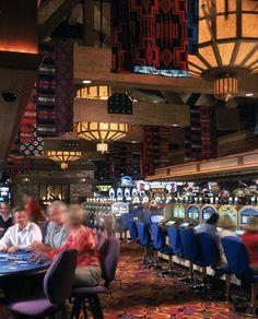 The casino gaming floor!
