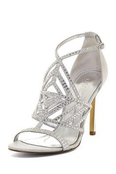 rhinestone stiletto <3  If only I could walk in em :/