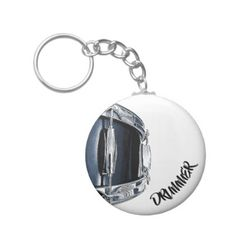 Drummer Keychain Snare Drum Rock & Roll Key Chain - accessories accessory gift idea stylish unique custom