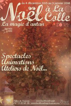 Noël à La Colle, la magie d'antan, La Colle-sur-Loup (06480), Provence-Alpes-Côte d'Azur