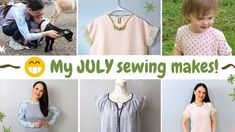 All July sewing makes, Deer Farm and chopped off hair! Deer Farm, Sewing, How To Make, Hair, Clothes, Women, Outfits, Dressmaking, Clothing
