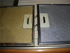 Как отмыть фильтр кухонной вытяжки от жира? Легко!