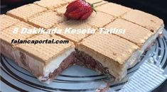 Cassette Dessert in 8 Minutes - Katze Kakao, Vanilla Cake, Tiramisu, Cookie Recipes, Tart, Cheesecake, Deserts, Brunch, Food And Drink
