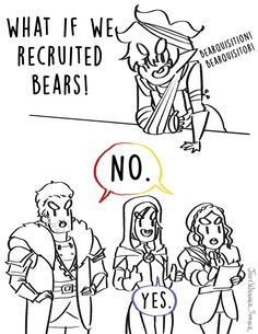 What if we recruited bears? (Thank god for Jaws of Hakkon) Adahlen Adventures #07 Master post of chapters