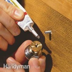Handy Home Products for Quick-Fix Repairs.....Sometimes the key to making a fix is just knowing the right product to use. We asked our team of professional carpenters, plumbers, painters, electricians and fix-it gurus what their favorite products were, and this is what they told us they never leave home without.