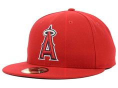 pretty nice 1cc45 0ca9e ... bucket  los angeles angels new era mlb authentic collection 59fifty cap  hats ...