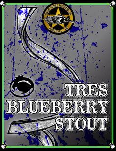 Dark Horse Tres Blueberry Stout Beer