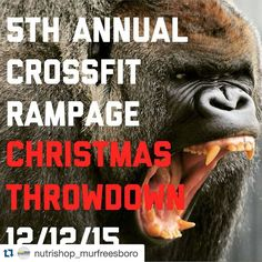 #Repost @nutrishop_murfreesboro with @repostapp.  Everyone make sure to come out tomorrow and support the athletes at this year's @rampagechristmasthrowdown! @crossfitrampage will be showing off their new facilities and the competition will be fierce! Stop by our booth we will be giving out free samples and swag as always! #nutrishopmurfreesboro #teamnutrishop #nutrishop #fitness #fitfam #workout #health #gym #getfit #dedication #motivation #determination #inspiration #lifestyle…