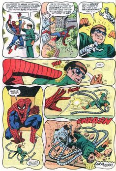 Doctor Octopus fears Spider-Man (from ASM #296)