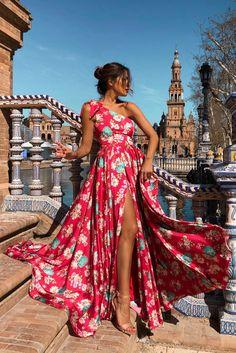 VESTIDO PRIMAVERA - Rocío Osorno - Diseñadora de moda - Sevilla