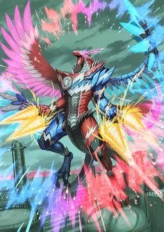 Robot Dragon, Dragon Knight, Dragon Rider, Kamen Rider Zi O, Kamen Rider Series, Fantasy Monster, Monster Art, Fantasy Dragon, Fantasy Art