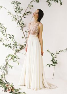 Simple timeless wedding dresses from Truvelle – Spring/Summer 2015