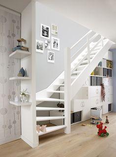 On optimise la place sous l'escalier