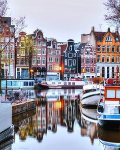 There are many exciting ways to discover the city of Amsterdam. You can explore by walking bike or even by a canal. How do you like to explore the city?! #PhotosNotPasswords
