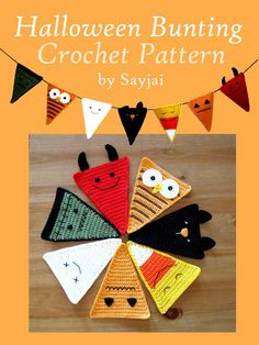 My Owl Barn: Halloween Bunting Crochet Pattern