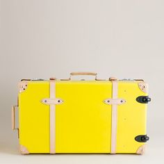 """Globe-Trotter® Centenary 30"""" extra-deep suitcase with wheels   $1,675.00"""