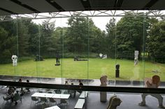 View from the Sainsbury Centre