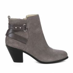 Sole Society - Round toe booties - Idelle from @Sole Society
