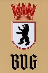 Wappen der Berliner Verkehrsbetriebe in den 30ern