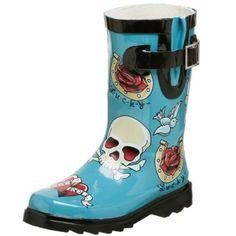 Chooka Toddler/Little Kid Tattoo City Rain Boot