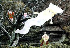 一反木綿 Ittan-momen / 水木しげる MIZUKI Shigeru