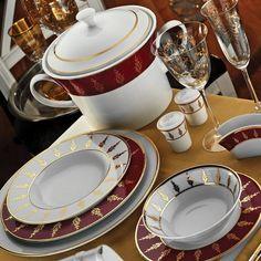 İris 12 Kişilik 97 Parça 6592 Desen Yemek Takımı  Kütahya Porselen Ürün Kodu : CIR97YT9036592    Sarayın ihtişamı İris yemek takımıyla artık sizin sofranızda