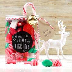 Bote golosina Navidad regalo perfecto
