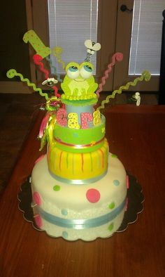 Frog Cake — Children's Birthday Cakes