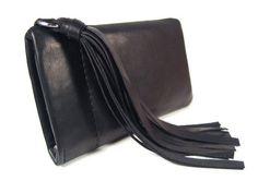 """Handyhülle """"PENNY"""" Iphone Tasche Leder schwarz Iphone Hülle Leder Quaste Handy Accessoire Handytasche nach Maß Tasche Iphone Leather Tassel, Leather Bag, Real Leather, Black Leather, Iphone Leather Case, Iphone Accessories, Tassels, Iphone Cases, Wallet"""