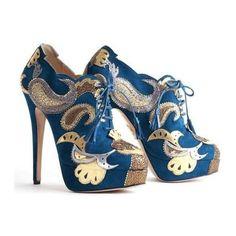 sexy blue heals #brayola