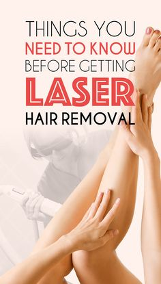 Here's Everything You Need To Know About Laser Hair Removal