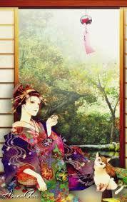 Resultado de imagen para geisha wallpaper
