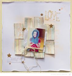Scrapbooking Kits, Paper & Supplies, Ideas & More at StudioCalico.com! Sunday Sketch
