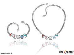Glitzernder Arm- & Halsschmuck mit kleinen bunten Kristallen